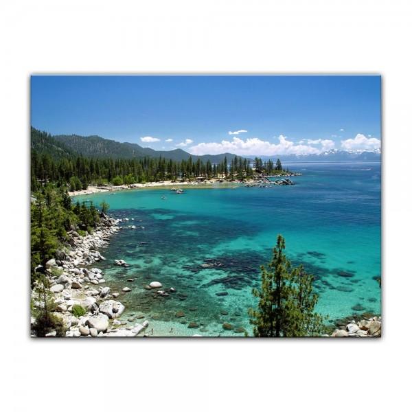 Leinwandbild - Lake Tahoe - Nevada USA