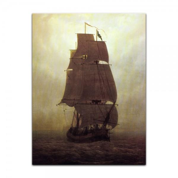 Leinwandbild - Caspar David Friedrich - Segelschiff