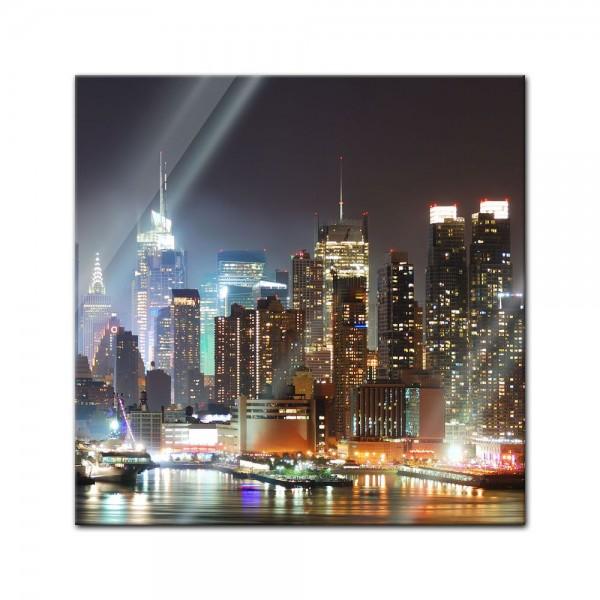 Glasbild - New York IV