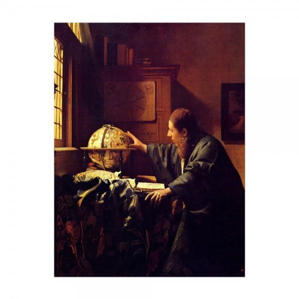 Leinwandbild - Jan Vermeer - Der Astronom