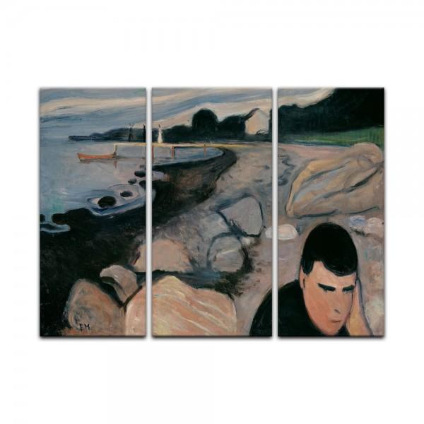 Leinwandbild - Edvard Munch - Melankoli