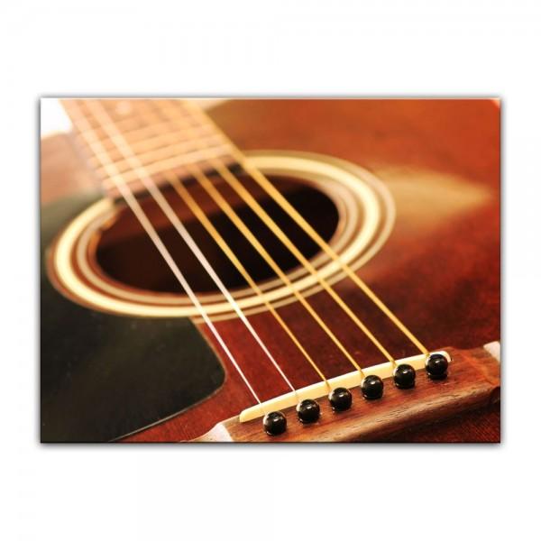 Leinwandbild - Gitarre