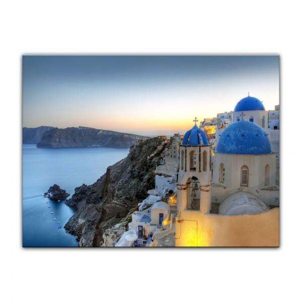 Leinwandbild - Santorini - Griechenland