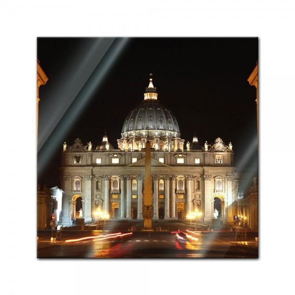 Glasbild - Vatikanstadt - Rom