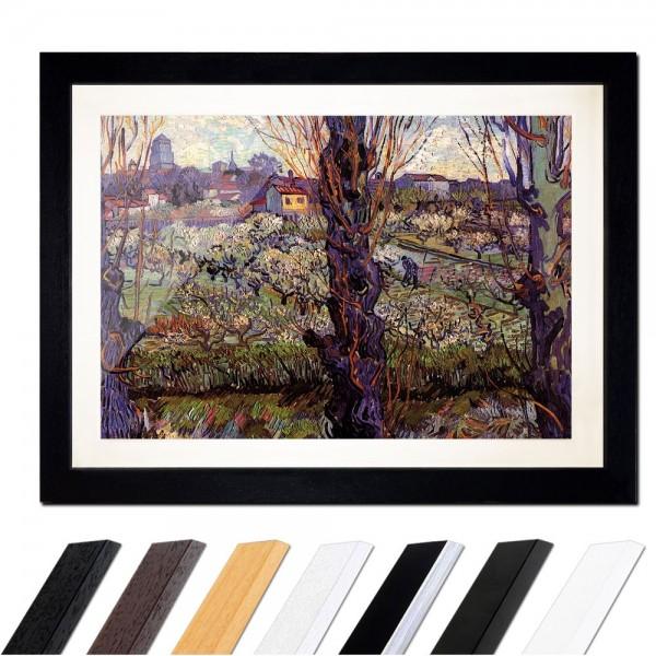 Vincent van Gogh - Blick auf Arles