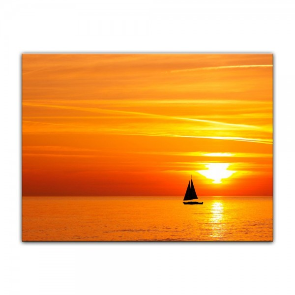 Leinwandbild - Sailing
