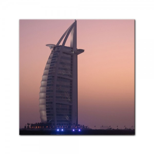 Leinwandbild - Burj al Arab Hotel in Dubai