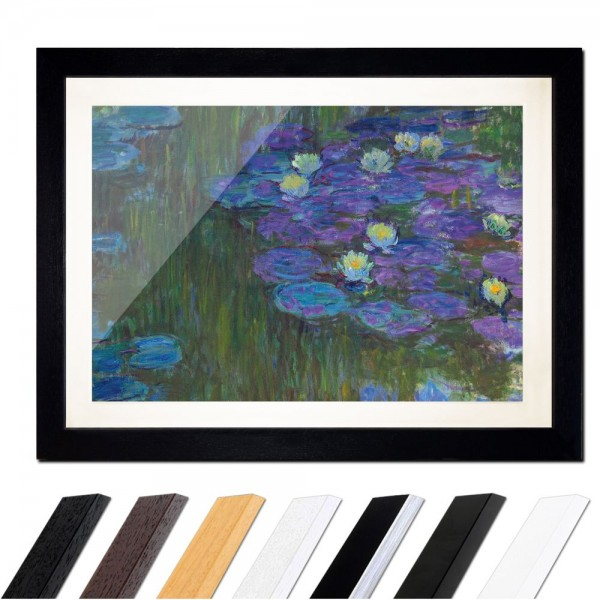 Claude Monet - Seerosen in voller Blüte