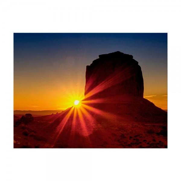 Leinwandbild - Panorama Sunrise - Panorama Sonnenaufgang