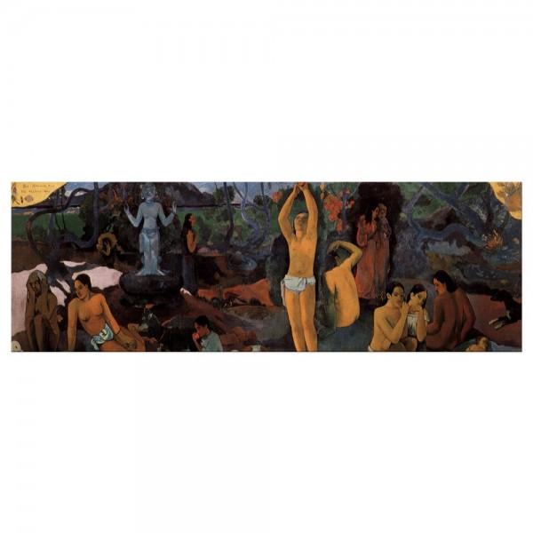 Leinwandbild - Paul Gauguin - Woher kommen wir Wer sind wir Wohin gehen wir