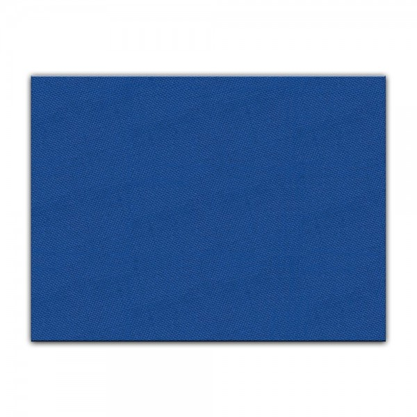 bemalbare Leinwand in blau - Rechteck