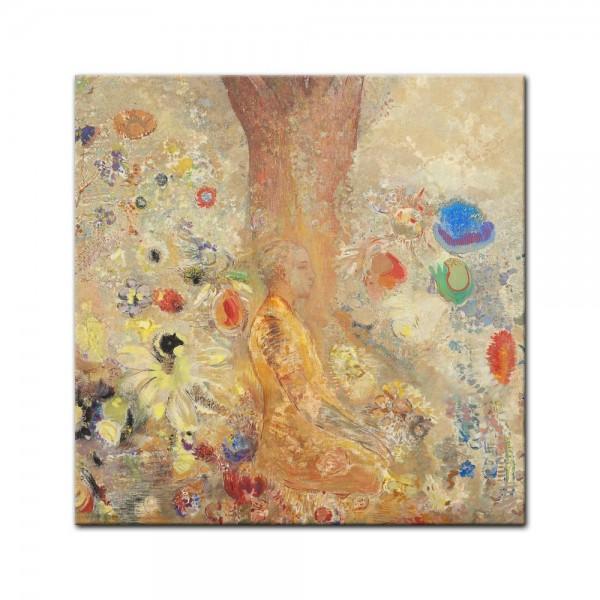 Leinwandbild - Odilon Redon - The Buddha