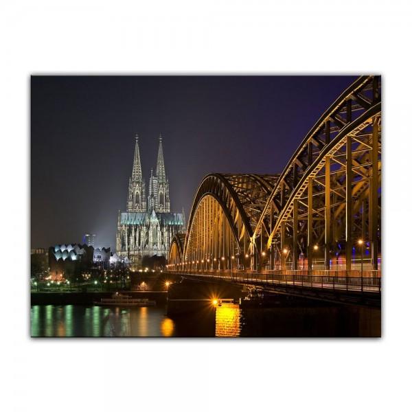 Leinwandbild - Kölner Dom