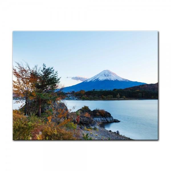 Leinwandbild - Fuji Kawaguchiko See