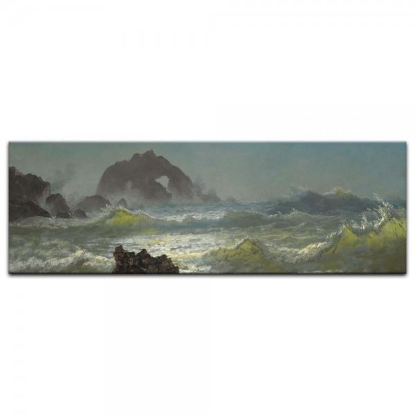 Leinwandbild - Albert Bierstadt - Seal Rock, California