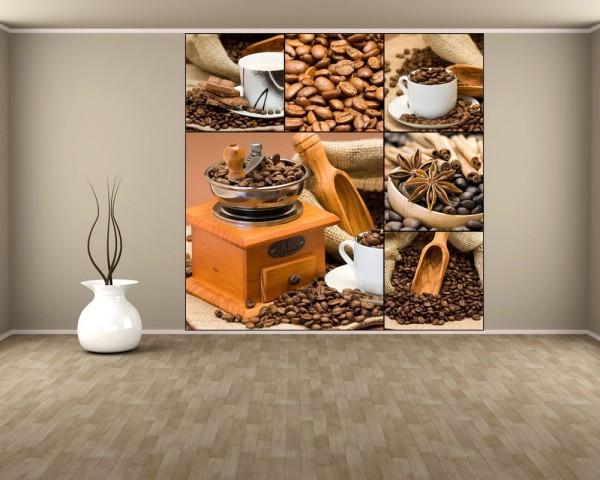 Fototapete Kaffee Collage II