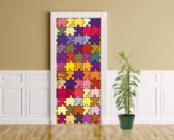 Türaufkleber - Puzzle