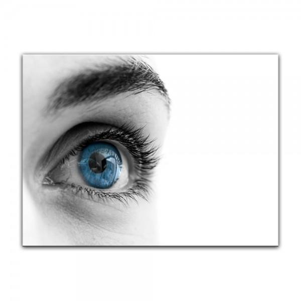 Leinwandbild - Auge