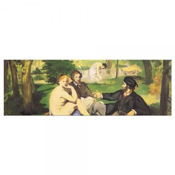 Leinwandbild - Édouard Manet - Das Frühstück im Grünen