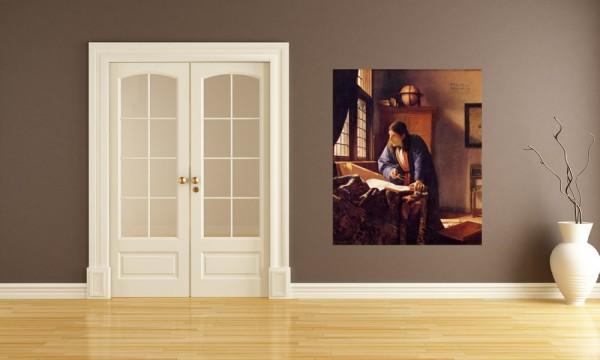 Fototapete Jan Vermeer - Alte Meister - Der Geograph