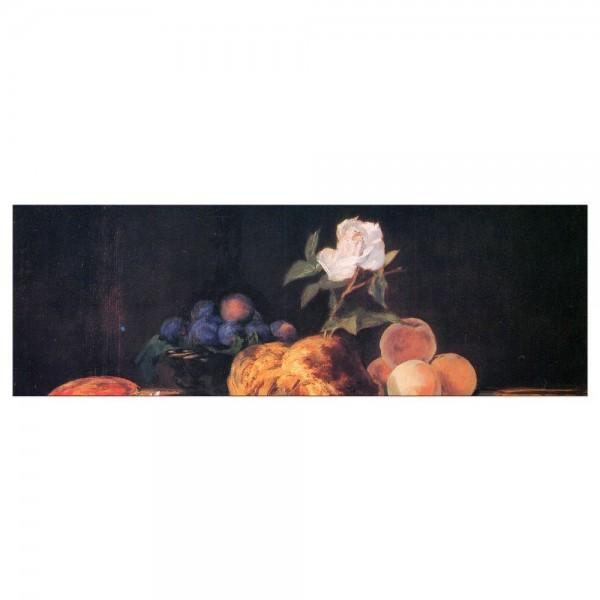Leinwandbild - Édouard Manet - Stillleben mit Brioche