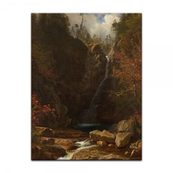 Leinwandbild - Albert Bierstadt - Glen Ellis Falls