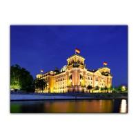 Leinwandbild - Reichstag - Berlin