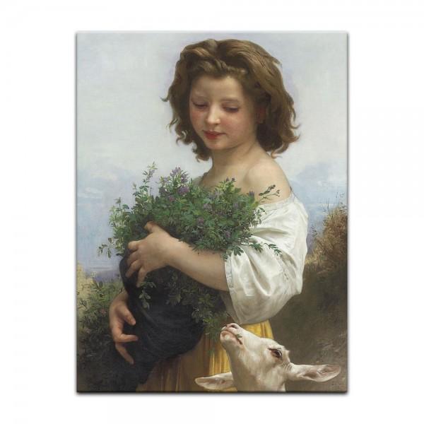 Leinwandbild - William-Adolphe Bouguereau - Kleine Esmeralda