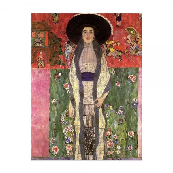 Leinwandbild - Gustav Klimt - Portrait der Adele Bloch-Bauer