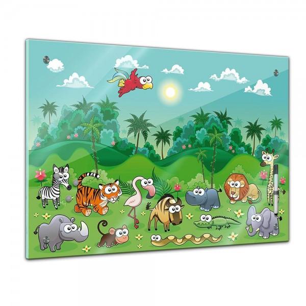 Memoboard - Kinder - Dschungeltiere Cartoon I