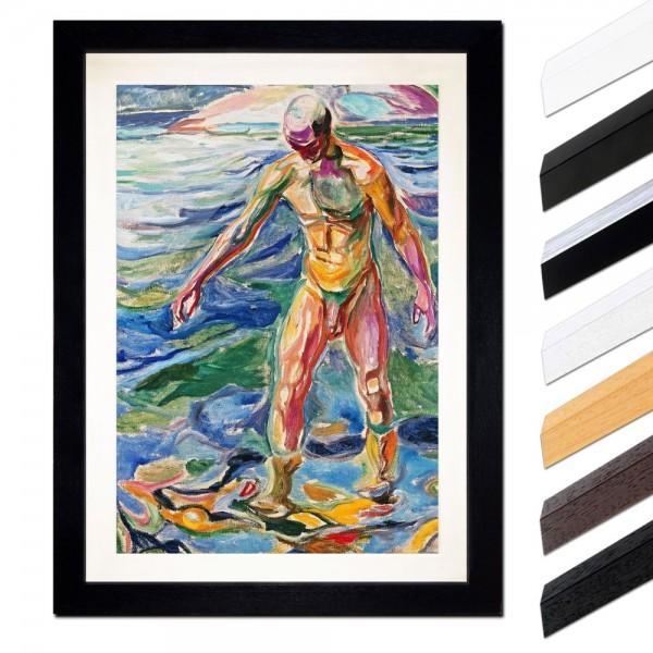 Edvard Munch - Bathing Man - Badender