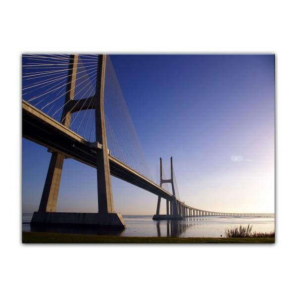 Leinwandbild - Brücke