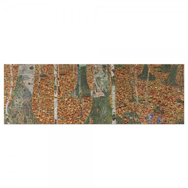 Leinwandbild - Gustav Klimt - Birkenwald