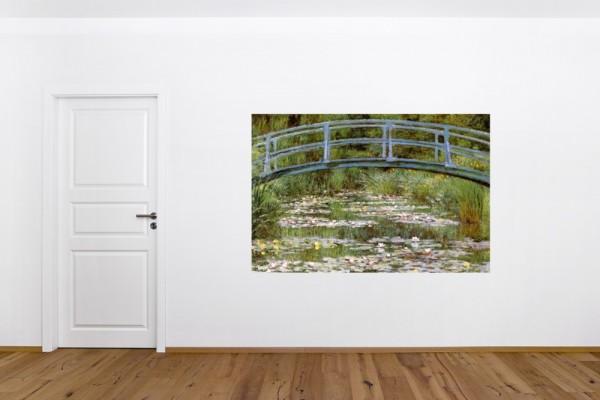 Fototapete Claude Monet - Alte Meister - Die japanische Brücke