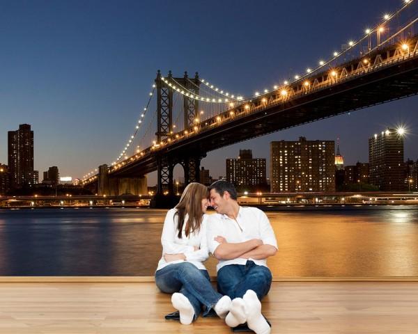 Fototapete - New York Bridge
