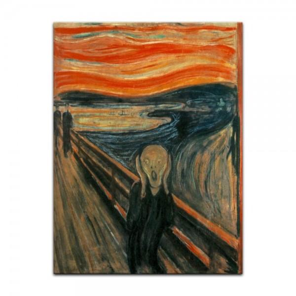 Leinwandbild - Edvard Munch - Der Schrei