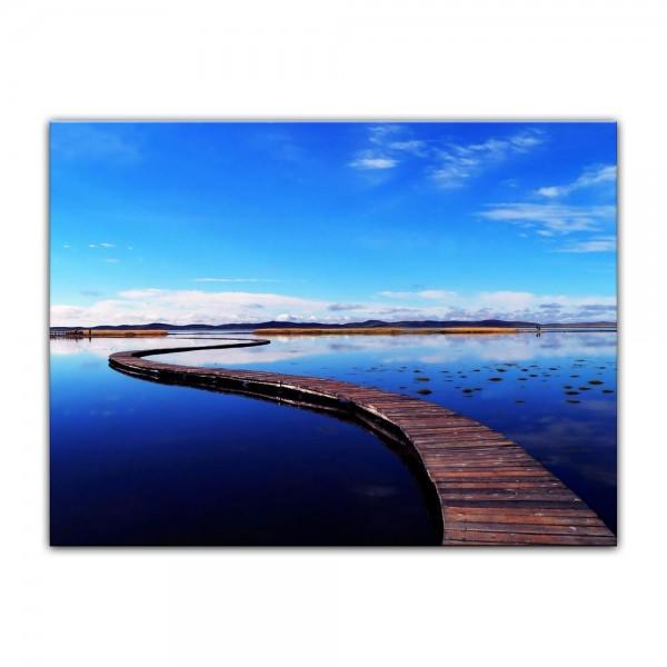 Leinwandbild - Peaceful Lake