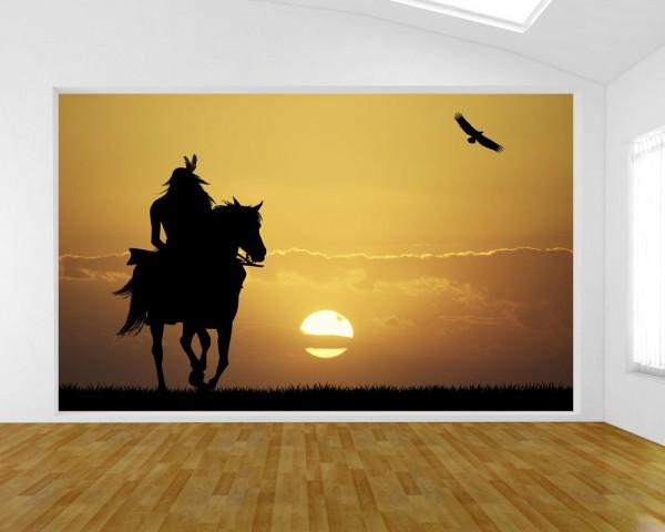 Fototapete - Crazy Horse