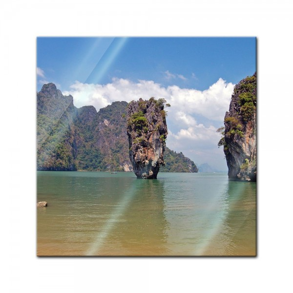 Glasbild - Thailand