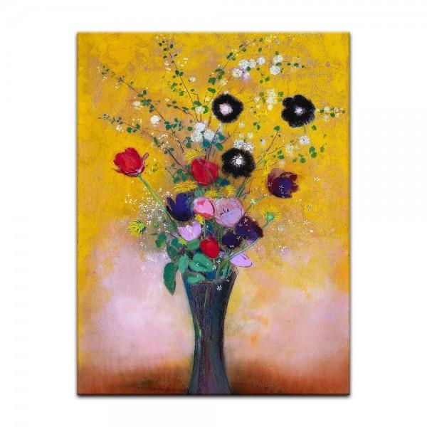 Leinwandbild - Odilon Redon - Blumen