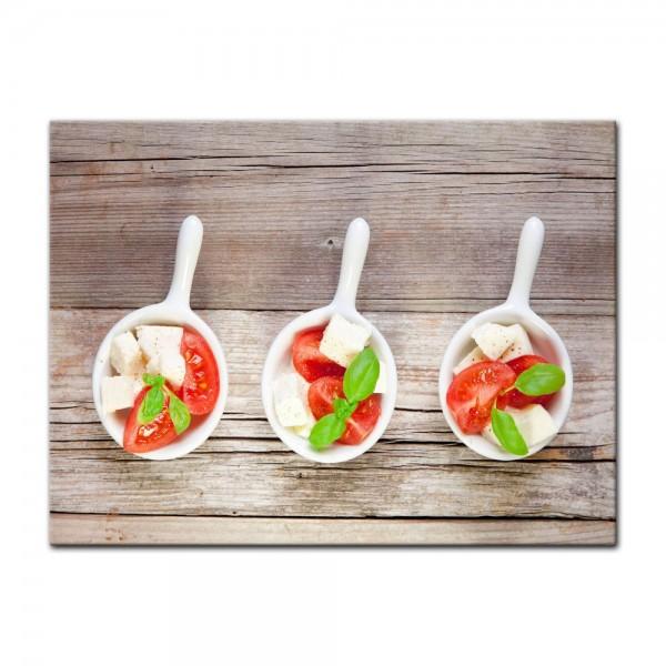 Leinwandbild - Italienischer Salat