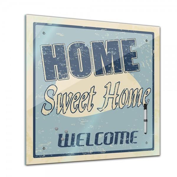 Memoboard - Interieur - Home Sweet Home - 40x40 cm