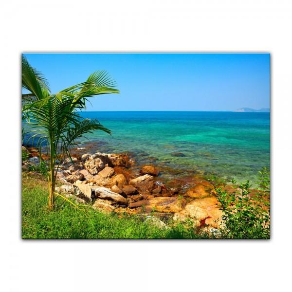 Leinwandbild - Seychellen II
