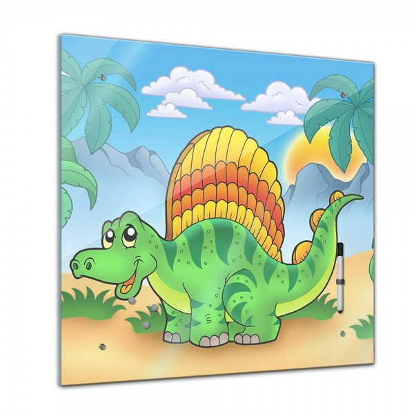 Memoboard - Kinder - Kleiner Dinosaurier - 40x40 cm