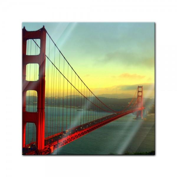 Glasbild - Golden Gate Bridge - San Francisco II