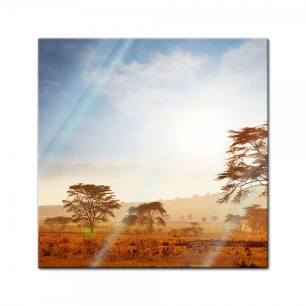 Glasbild - Kenia