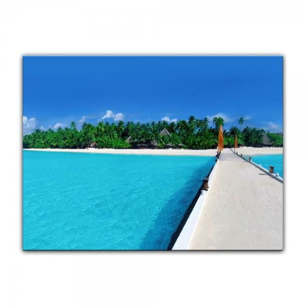 Leinwandbild - Malediven