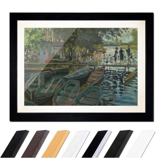 Claude Monet - Badende in La Grenouillère
