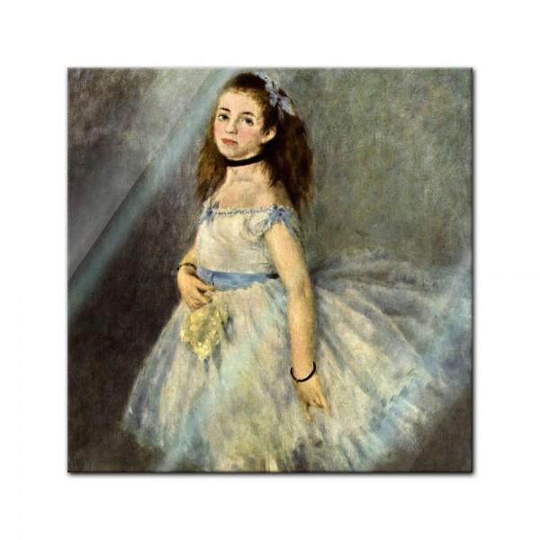 Glasbild Pierre-Auguste Renoir - Alte Meister - Die Balletttänzerin