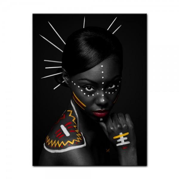 Leinwandbild - Tribal Woman